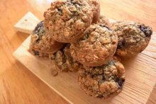 Flourless breakfast muffins